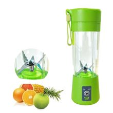 400ML Portable Juice Blender USB Juicer Cup Household Multi-function Fruit Mixer Six Blades Mixing Machine Smoothies Baby Food