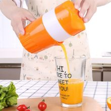 Portable 300ml Manual Fruit Juicer
