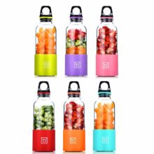 500ml USB Electric Juicer Cup Mini Portable USB Rechargeable Juicer Blender Maker Shaker Squeezers Fruit Orange Juice Extractor