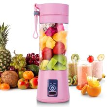 Handheld Juicer Bottle Portable Mini USB Electric 380ML