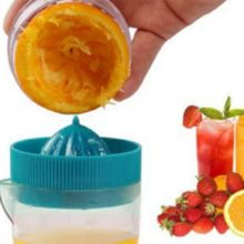 Mini Manual Juicer Plastic Hand Press Squeezer
