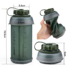 750ml Collapsible Water Bottle Lightweight Compact