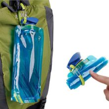 700mL Reusable Sports Travel Portable Collapsible Folding Drink Water Bottle Kettle Outdoor Sports Water Bottle BPA free