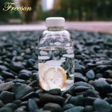 Cute Animal Sport Camping Glass Water Bottle