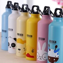 Thermos Water  Bottle Cup Animal Cartoon Pattern